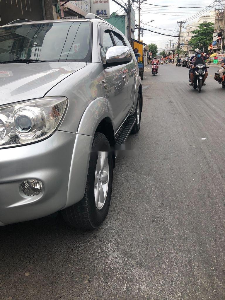 Cần bán lại xe Toyota Fortuner sản xuất năm 2009, màu bạc, giá 455tr (4)