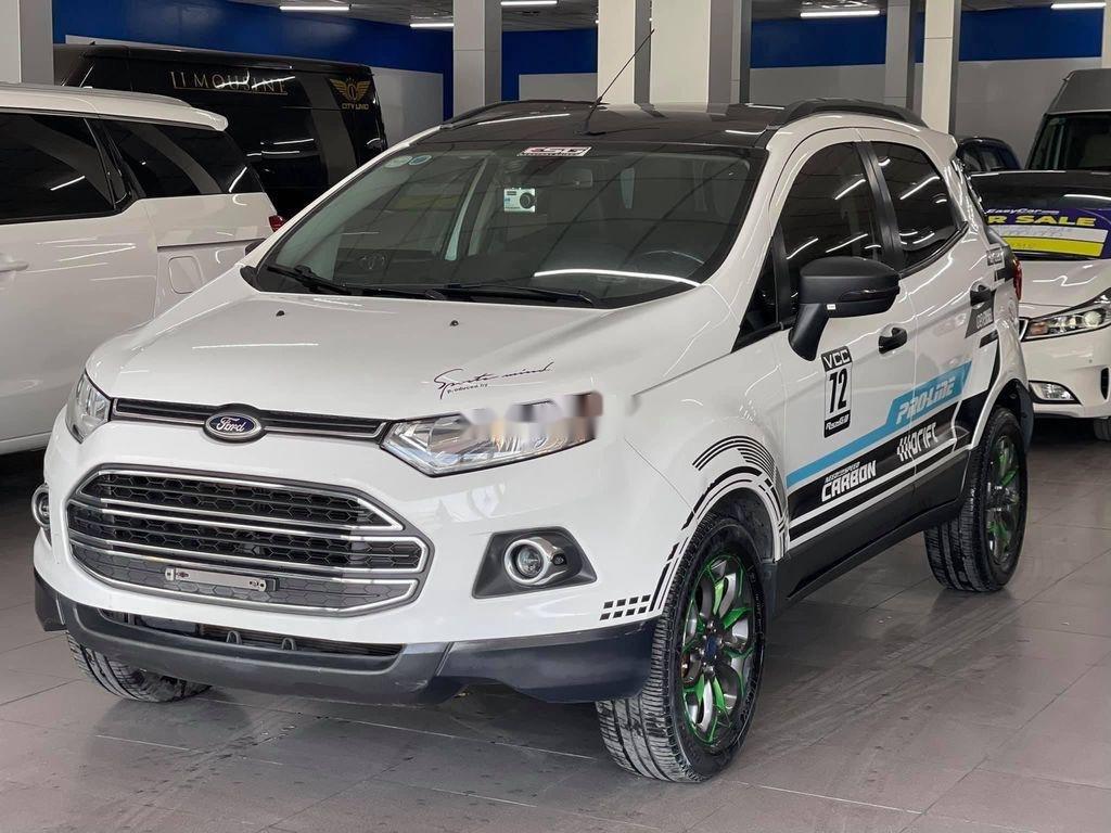 Cần bán gấp Ford EcoSport đời 2014, màu trắng chính chủ (3)