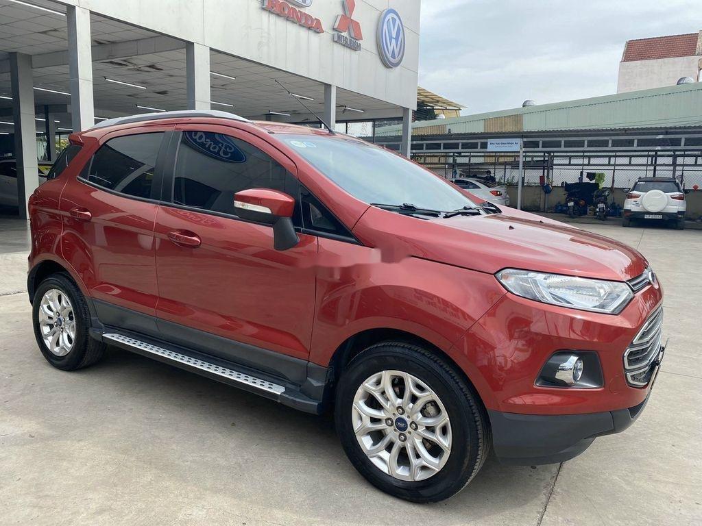 Bán Ford EcoSport sản xuất năm 2015, màu đỏ, giá chỉ 435 triệu (1)