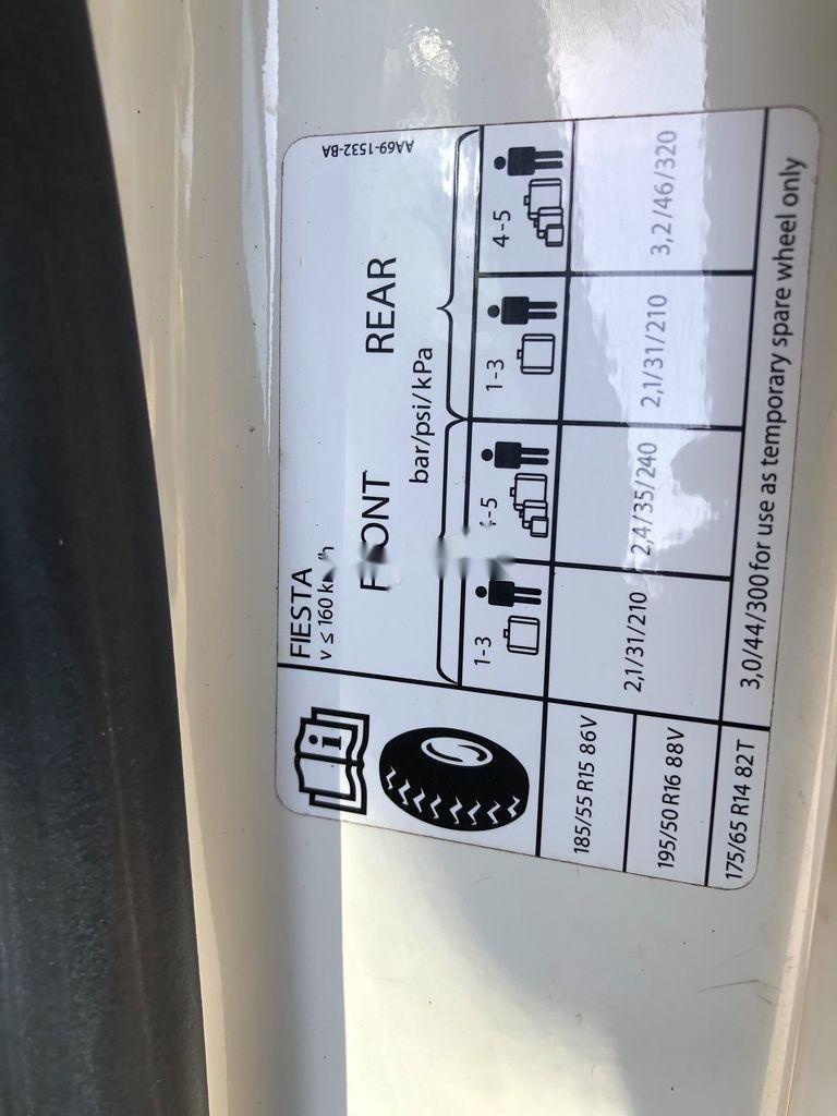 Cần bán Ford Fiesta đời 2011, màu trắng, giá tốt (2)