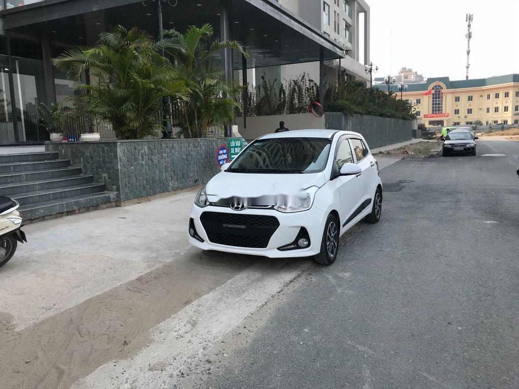 Bán Hyundai Grand i10 sản xuất 2019, màu trắng (3)