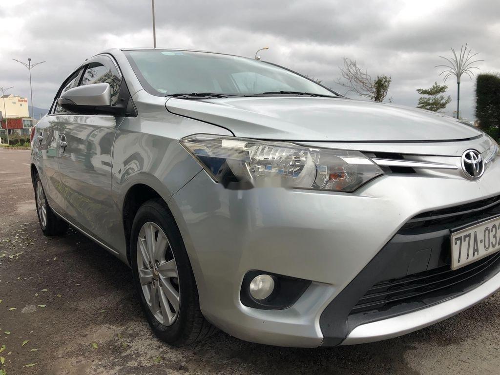 Bán ô tô Toyota Vios sản xuất 2014, màu bạc chính chủ, giá chỉ 340 triệu (11)