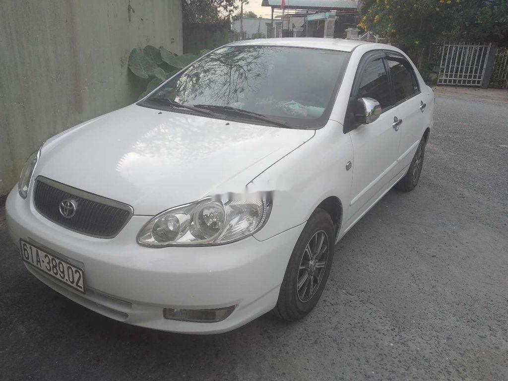 Bán xe Toyota Corolla Altis năm sản xuất 2003, màu trắng (2)