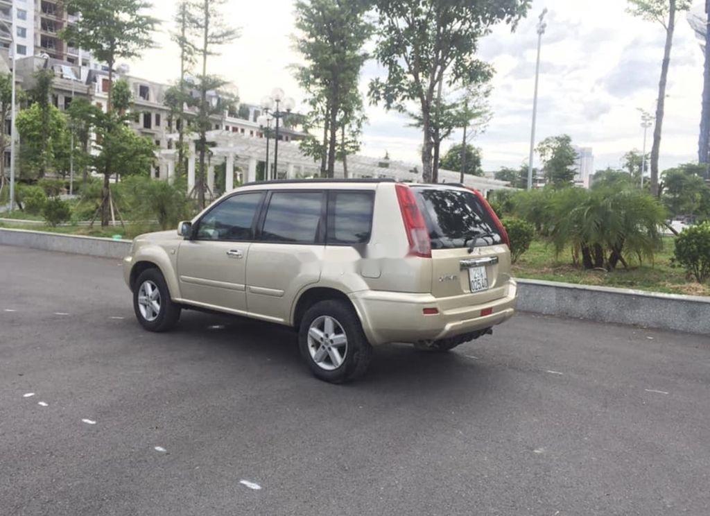 Cần bán xe Nissan X trail năm 2003, màu vàng, nhập khẩu  (5)