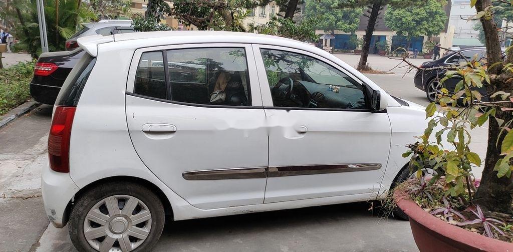 Bán xe Kia Morning đời 2008, màu trắng, nhập khẩu  (4)