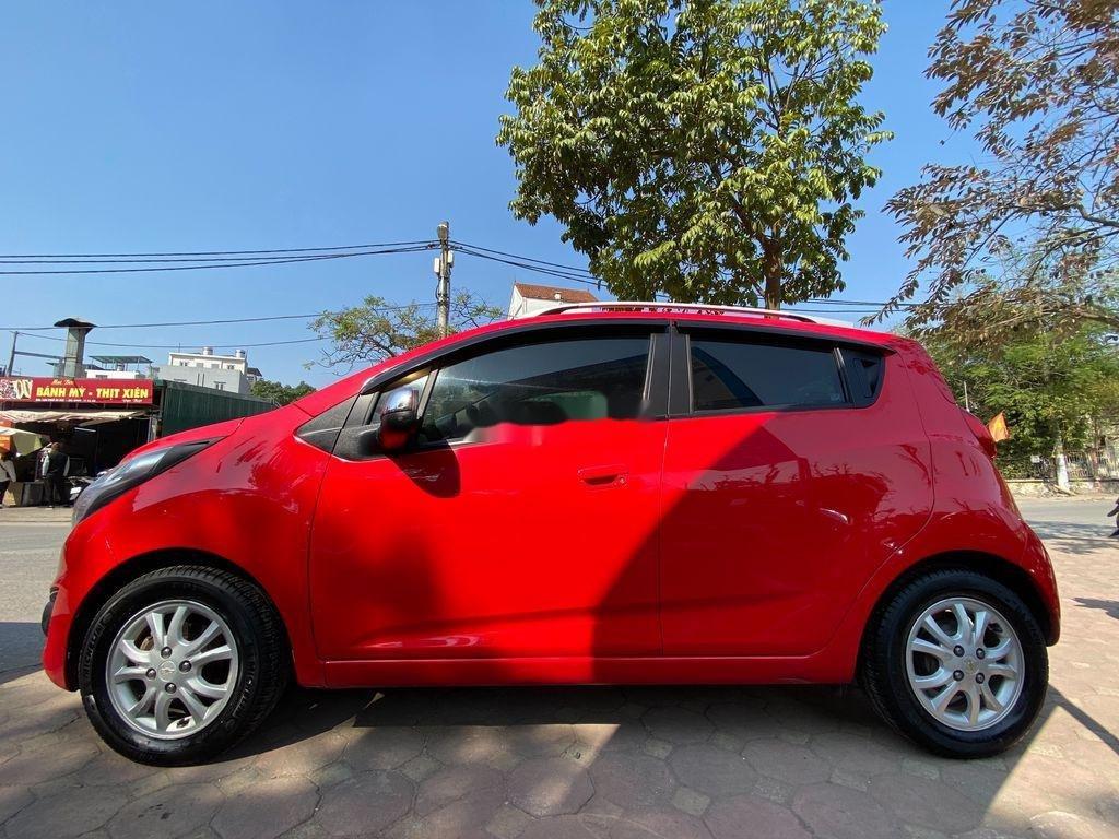 Cần bán lại xe Chevrolet Spark đời 2013, màu đỏ  (12)