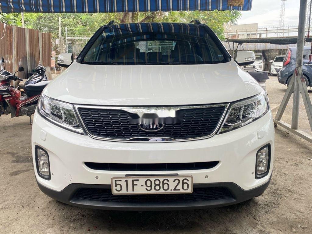 Cần bán lại xe Kia Sorento sản xuất 2016, giá thấp (1)