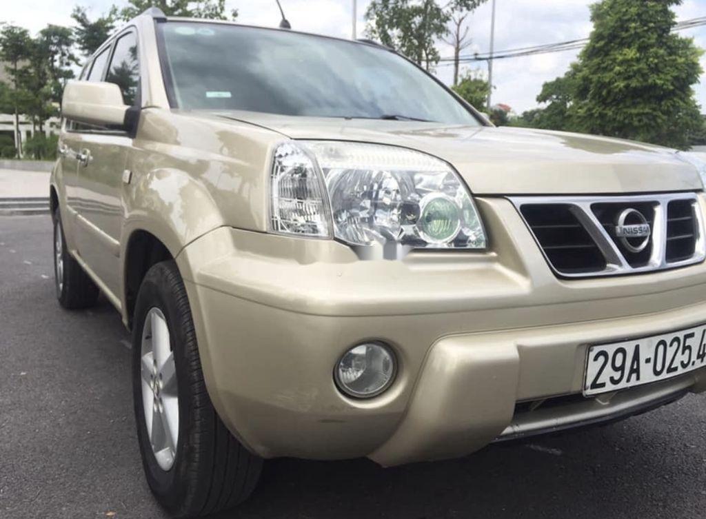 Cần bán xe Nissan X trail năm 2003, màu vàng, nhập khẩu  (3)