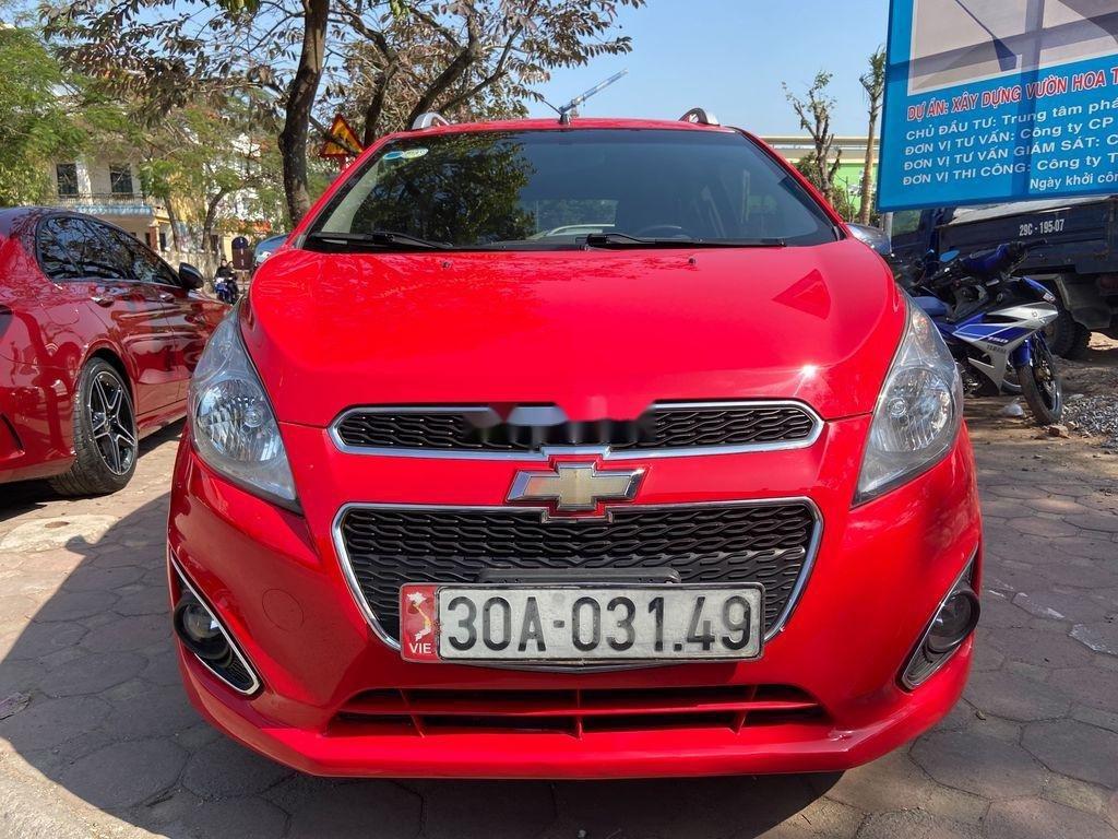 Cần bán lại xe Chevrolet Spark đời 2013, màu đỏ  (1)