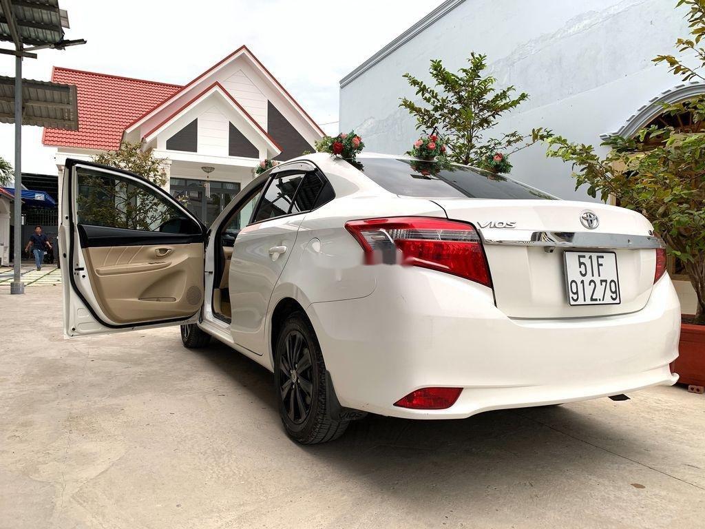 Bán ô tô Toyota Vios sản xuất năm 2016, màu trắng (1)