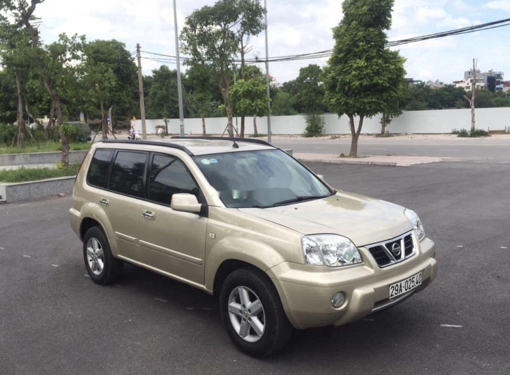 Cần bán xe Nissan X trail năm 2003, màu vàng, nhập khẩu  (4)