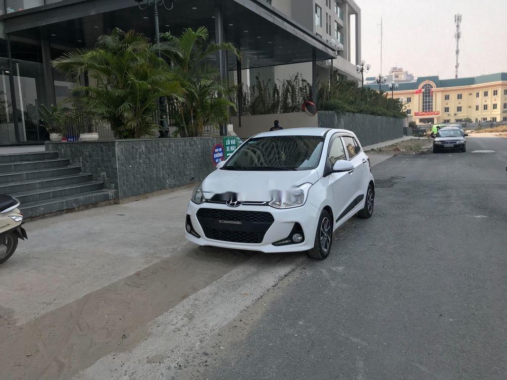 Bán Hyundai Grand i10 sản xuất 2019, màu trắng (2)