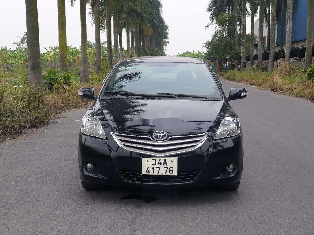 Cần bán xe Toyota Vios đời 2011, màu đen, giá chỉ 210 triệu (1)