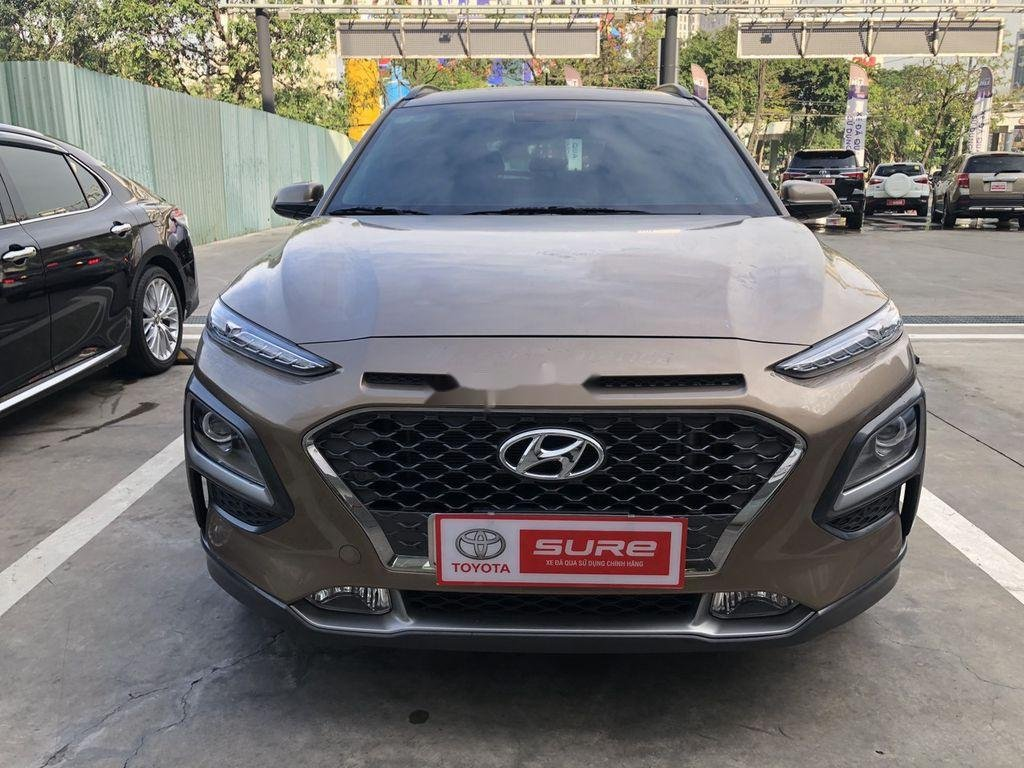 Bán Hyundai Kona sản xuất năm 2018, màu nâu (1)
