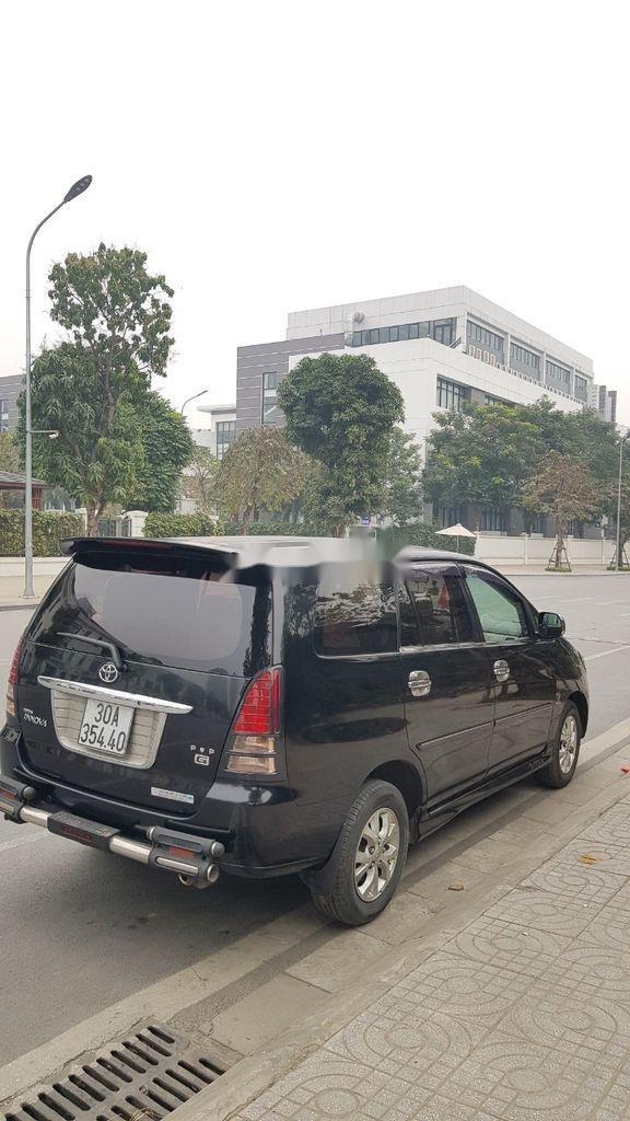 Bán Toyota Innova 2007, màu đen  (3)