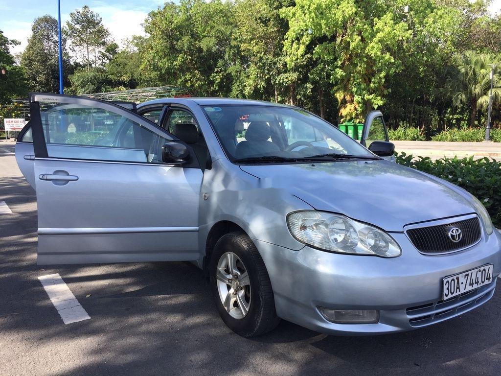 Cần bán lại xe Toyota Corolla Altis đời 2001, màu bạc (4)