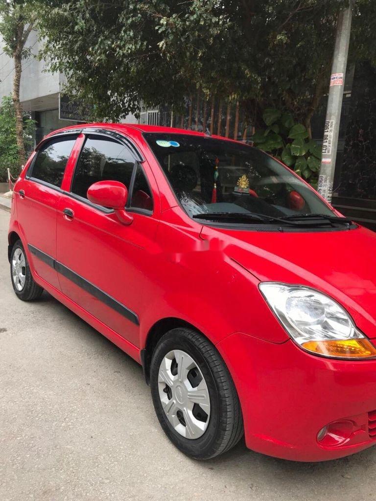 Bán Chevrolet Spark đời 2015, màu đỏ chính chủ, giá tốt (6)