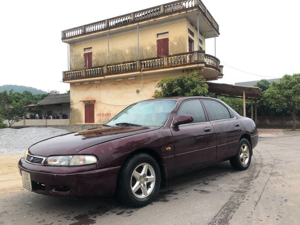 Bán xe Mazda 626 đời 1995, màu đỏ, xe nhập (1)