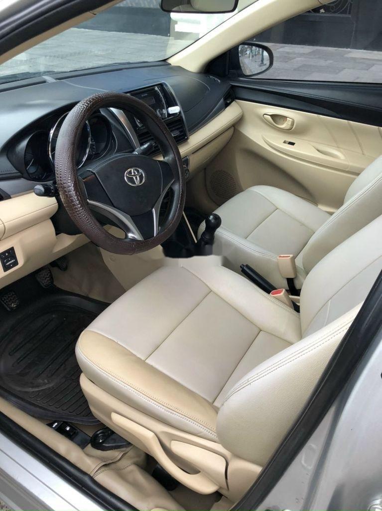 Bán ô tô Toyota Vios sản xuất 2014, màu bạc chính chủ, giá chỉ 340 triệu (12)