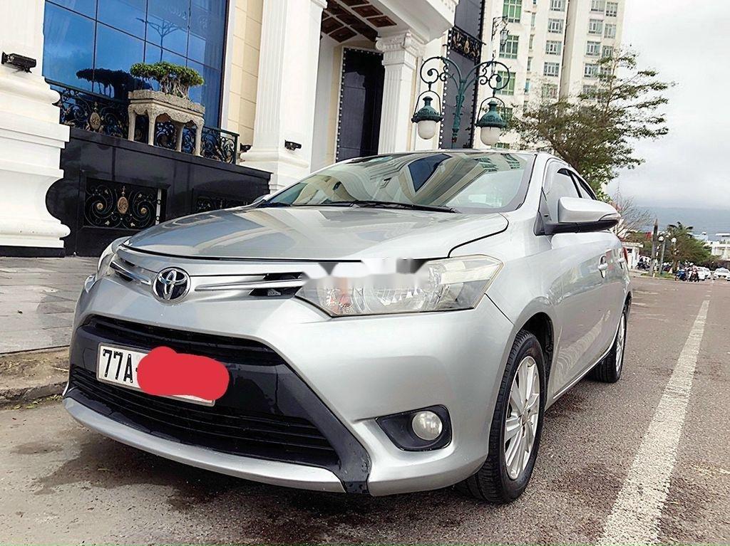 Bán ô tô Toyota Vios sản xuất 2014, màu bạc chính chủ, giá chỉ 340 triệu (1)