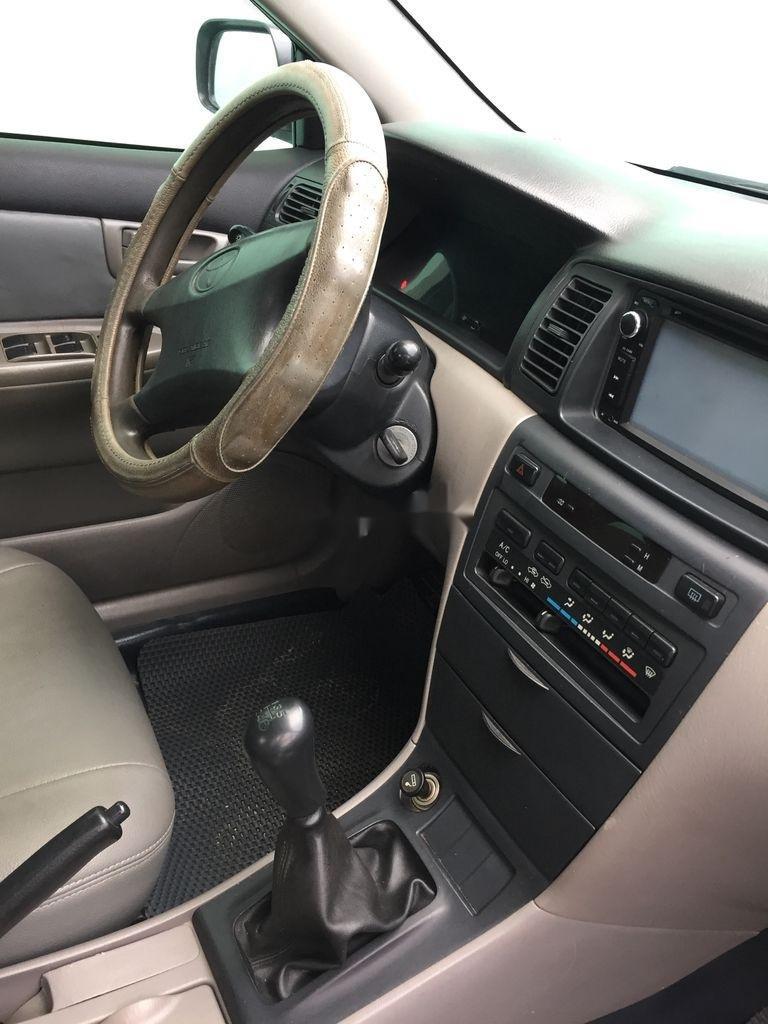 Cần bán lại xe Toyota Corolla Altis đời 2001, màu bạc (6)