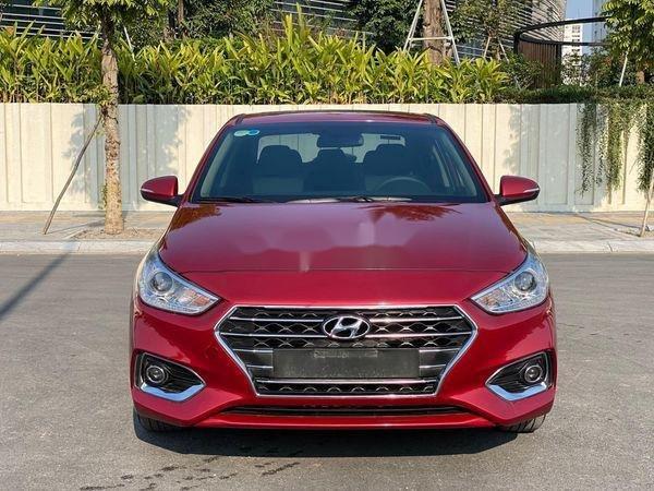 Bán Hyundai Accent sản xuất năm 2019, màu đỏ (1)