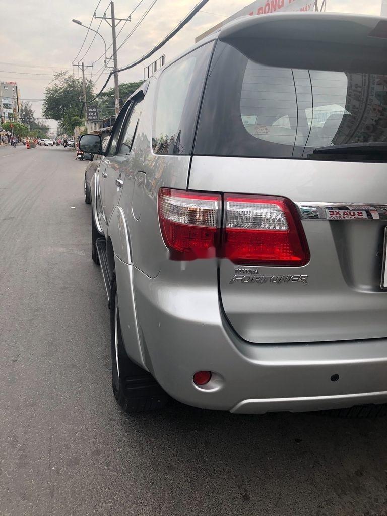 Cần bán lại xe Toyota Fortuner sản xuất năm 2009, màu bạc, giá 455tr (2)