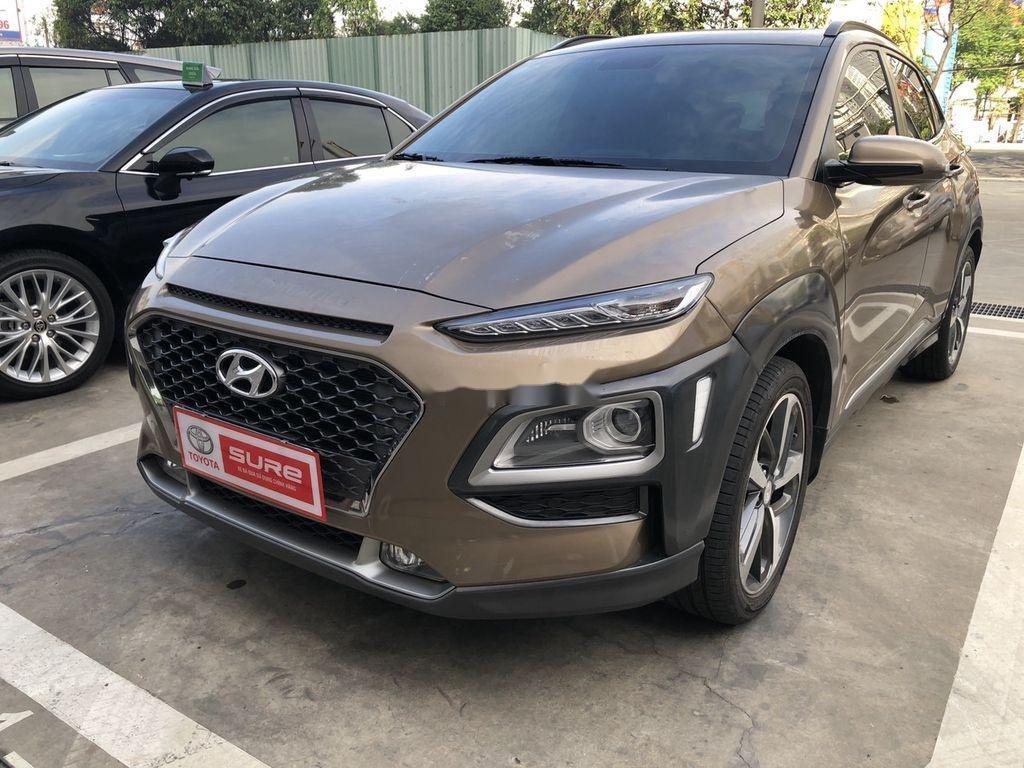 Bán Hyundai Kona sản xuất năm 2018, màu nâu (2)