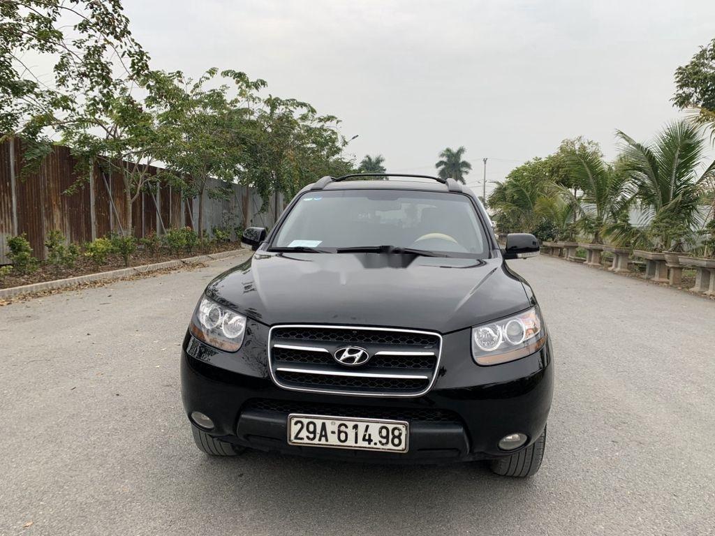 Cần bán Hyundai Santa Fe sản xuất năm 2018, màu đen, 445 triệu (1)