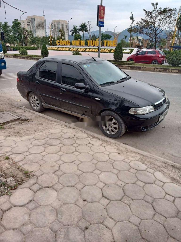 Cần bán Fiat Albea sản xuất 2004, màu đen, nhập khẩu, giá tốt (1)