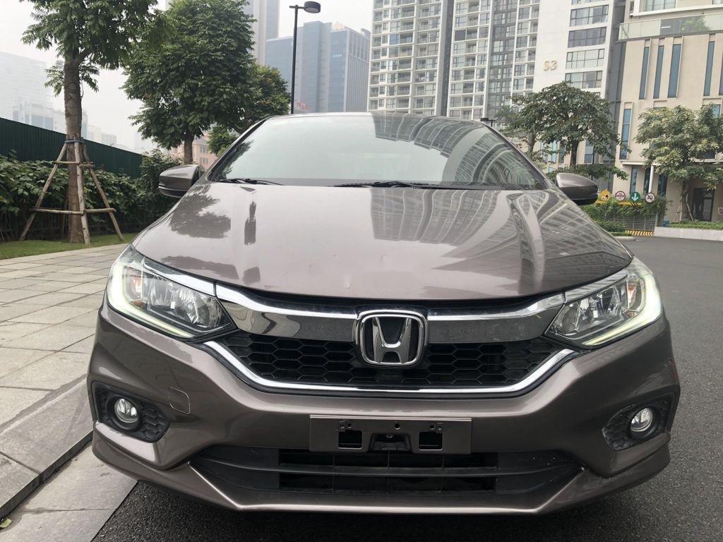 Cần bán gấp Honda City sản xuất 2018, màu nâu hồng (2)