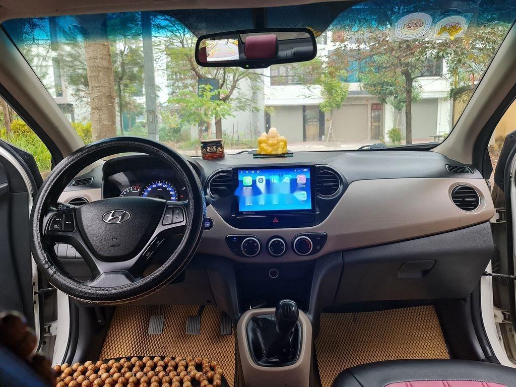 Bán Hyundai Grand i10 2015, màu trắng, xe nhập chính chủ (3)