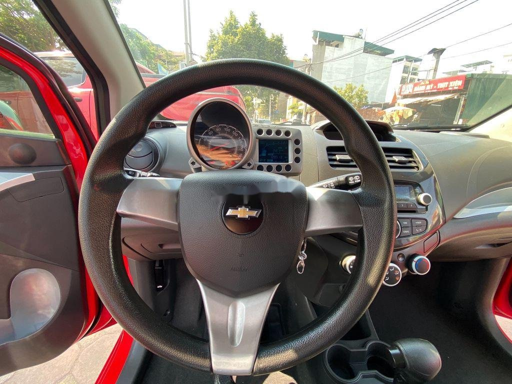 Cần bán lại xe Chevrolet Spark đời 2013, màu đỏ  (6)