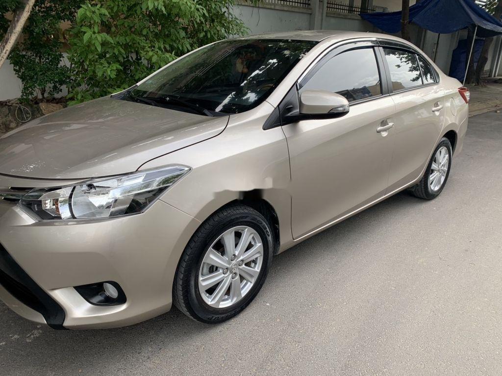 Cần bán lại xe Toyota Vios năm 2017, giá thấp, động cơ ổn định (1)