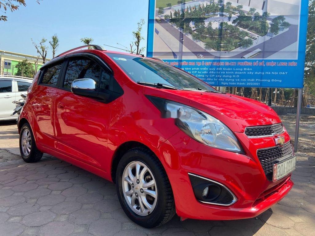 Cần bán lại xe Chevrolet Spark đời 2013, màu đỏ  (3)