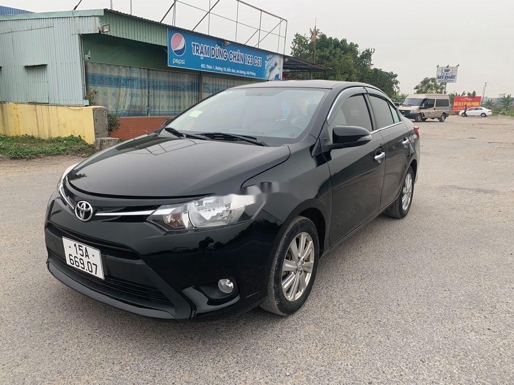Cần bán gấp Toyota Vios 2016, màu đen, xe nhập, giá tốt (6)