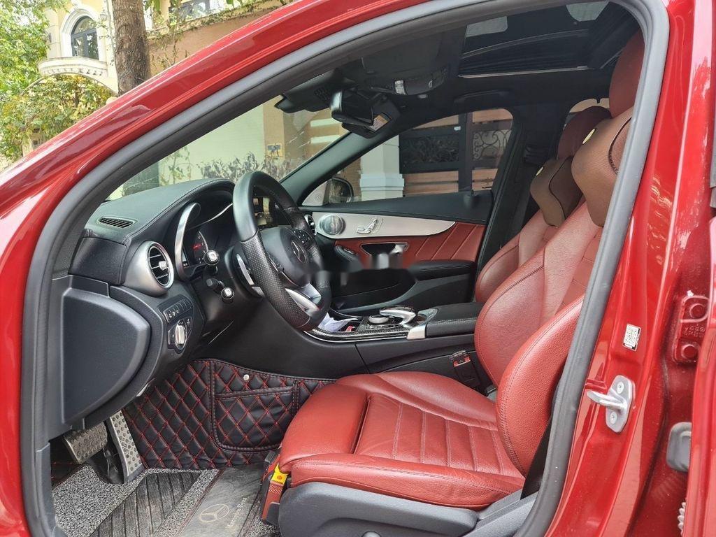Cần bán gấp Mercedes C 300 AMG đời 2017, màu đỏ  (7)