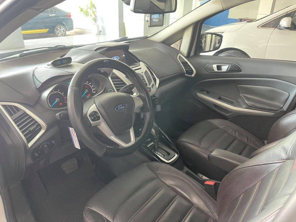 Cần bán gấp Ford EcoSport đời 2014, màu trắng chính chủ (5)