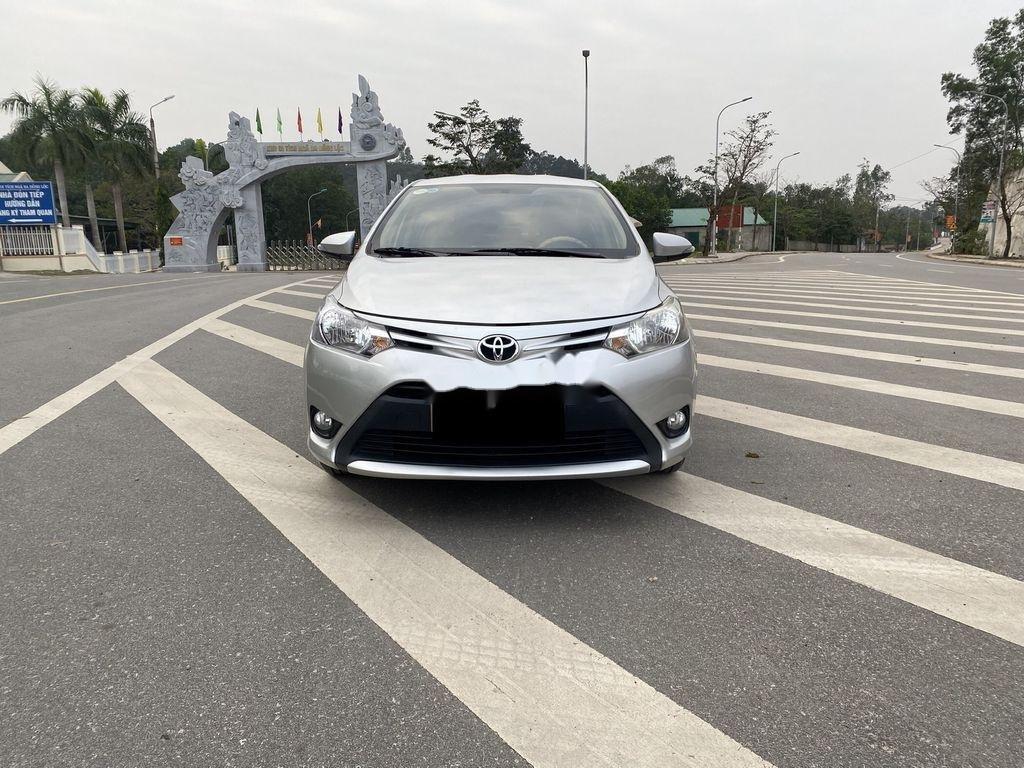 Cần bán gấp Toyota Vios sản xuất 2015, màu bạc, giá chỉ 346 triệu (4)