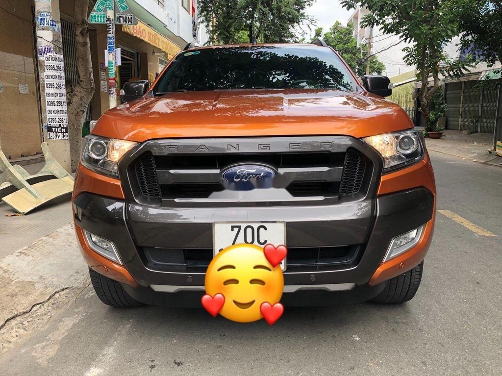 Cần bán xe Ford Ranger Wildtrak năm 2017, nhập khẩu nguyên chiếc, giá chỉ 790 triệu (2)