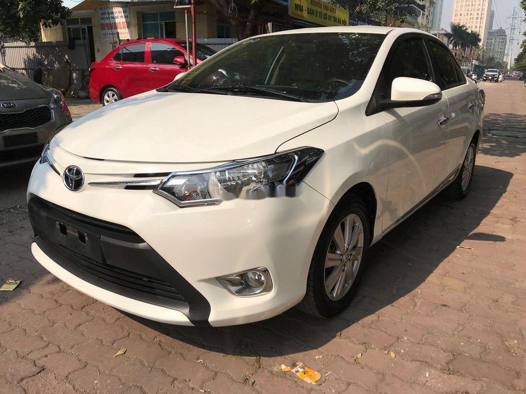 Cần bán xe Toyota Vios 2018, màu trắng  (3)