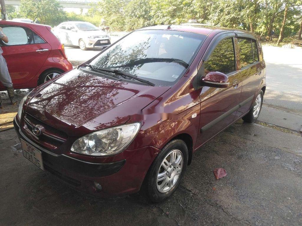 Bán ô tô Hyundai Click đời 2008, màu đỏ, nhập khẩu  (2)