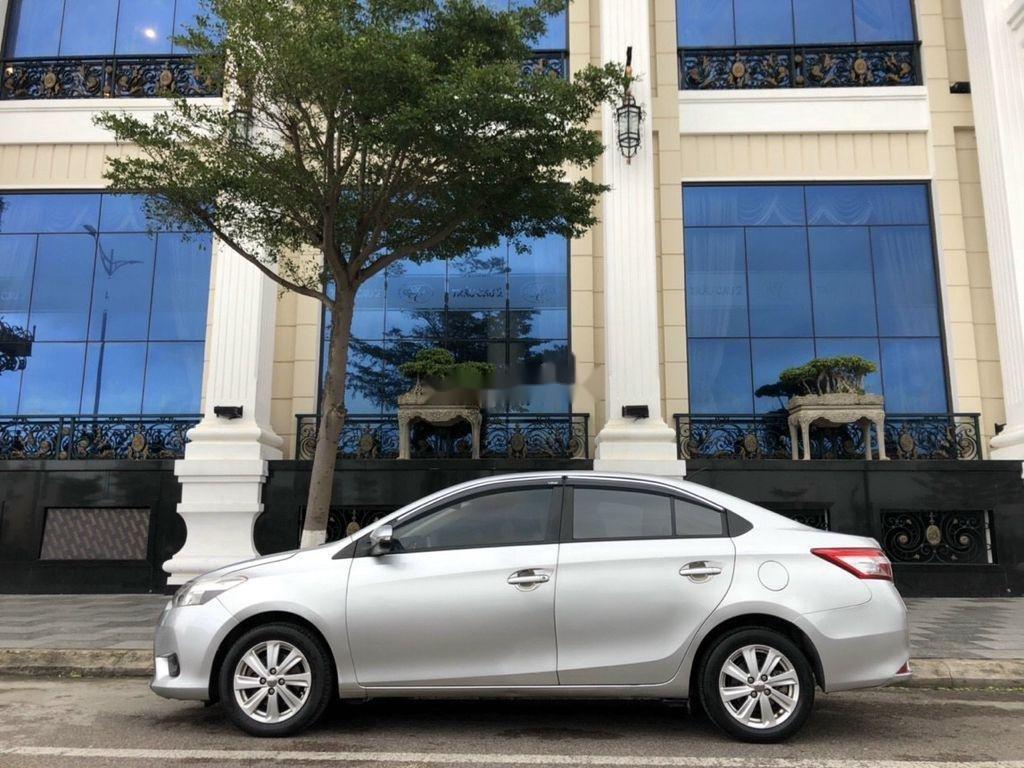 Bán ô tô Toyota Vios sản xuất 2014, màu bạc chính chủ, giá chỉ 340 triệu (5)