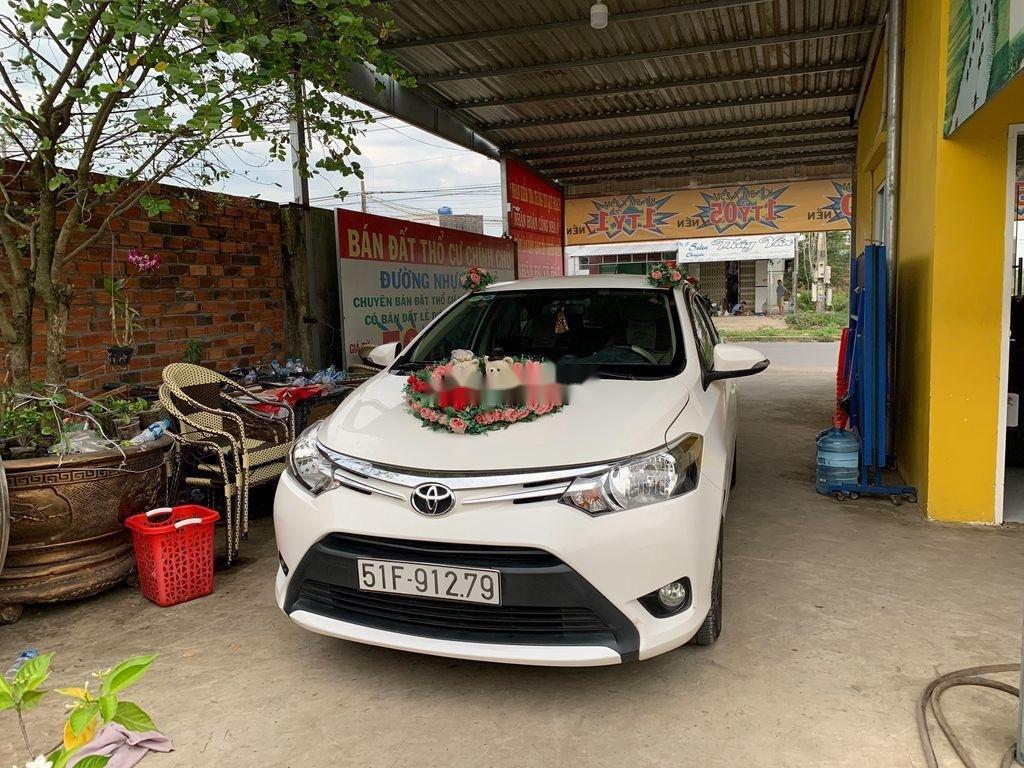 Bán ô tô Toyota Vios sản xuất năm 2016, màu trắng (2)
