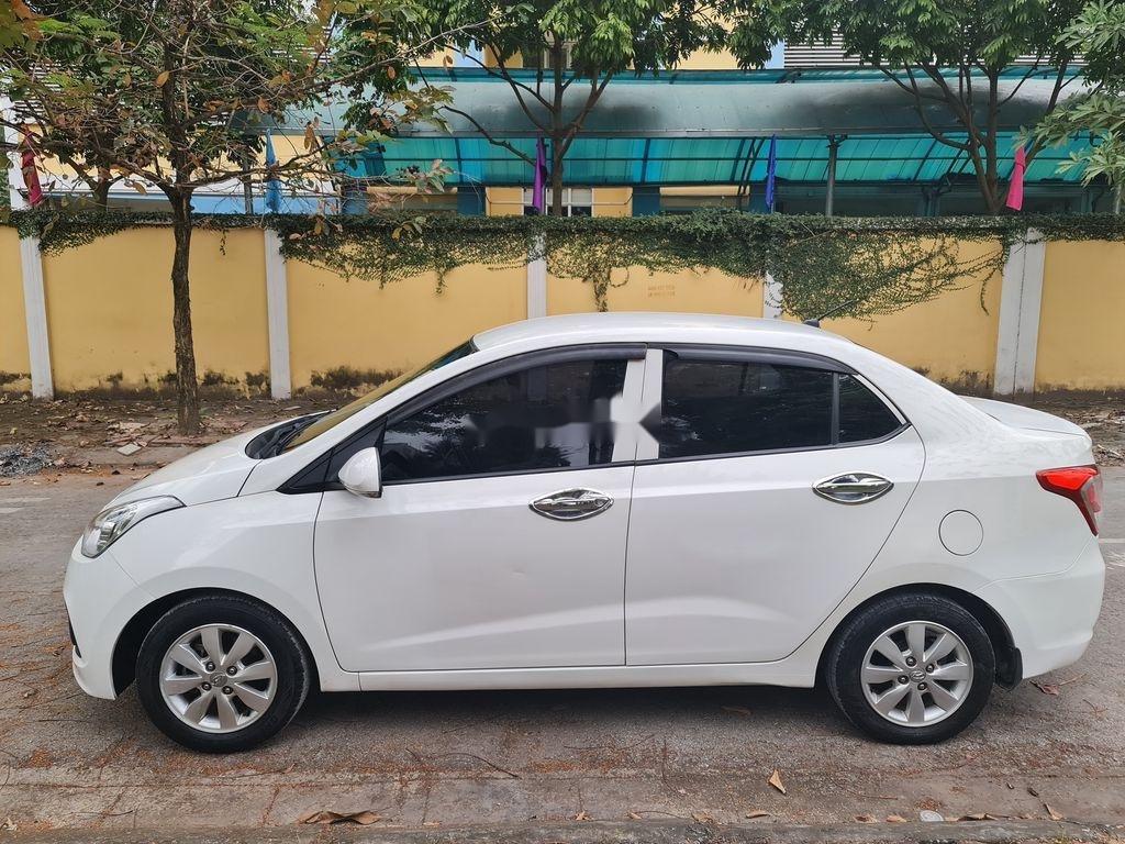 Bán Hyundai Grand i10 2015, màu trắng, xe nhập chính chủ (6)