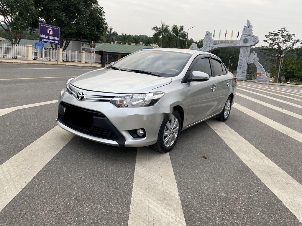 Cần bán gấp Toyota Vios sản xuất 2015, màu bạc, giá chỉ 346 triệu (3)
