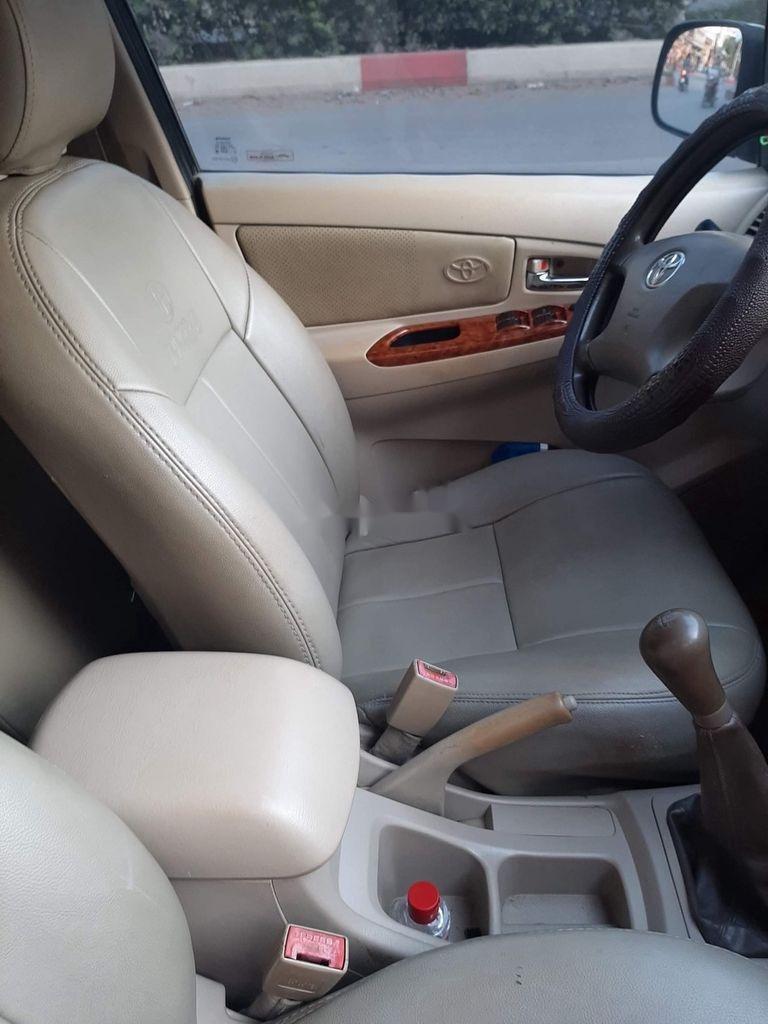 Bán Toyota Innova năm sản xuất 2007, màu bạc còn mới (4)