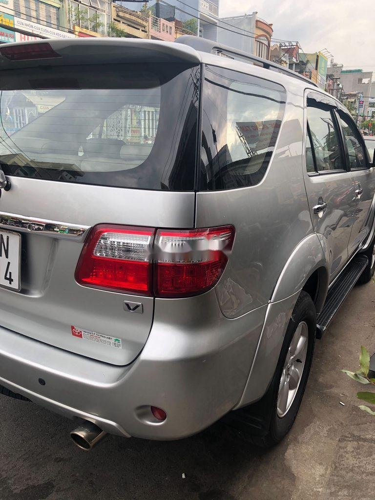 Cần bán lại xe Toyota Fortuner sản xuất năm 2009, màu bạc, giá 455tr (1)