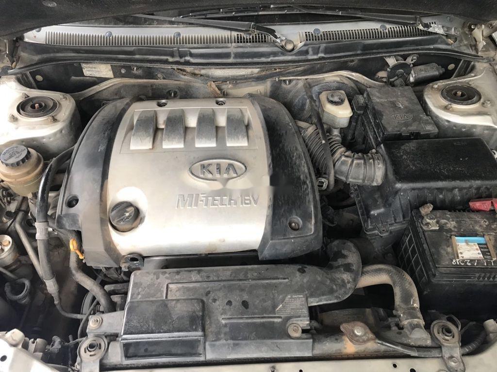 Cần bán lại xe Kia Spectra sản xuất năm 2003, màu bạc  (2)