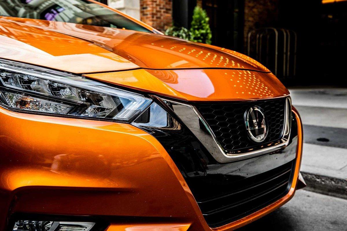Ảnh Lưới tản nhiệt xe Nissan Sunny 2021
